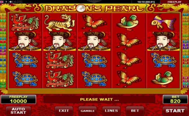 Dragon's Pearl :: Main Game Board