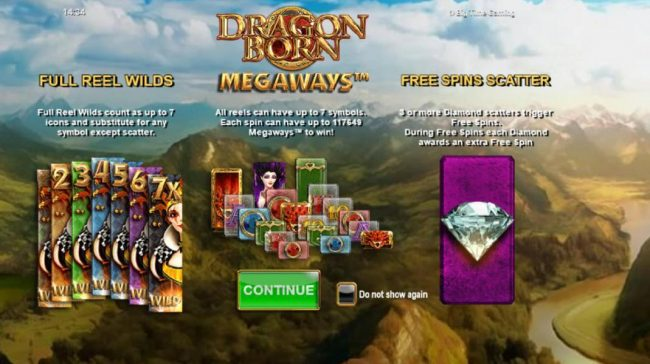 Play slots at Dream Vegas: Dream Vegas featuring the Video Slots Dragon Born with a maximum payout of $70,000