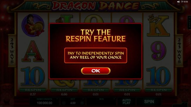 EypoBet featuring the Video Slots Dragon Dance with a maximum payout of $60,000