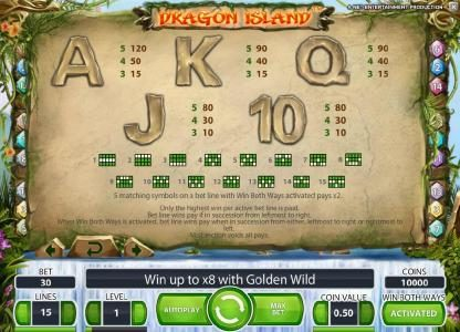 Play slots at Spinzilla: Spinzilla featuring the Video Slots Dragon Island with a maximum payout of $100,000