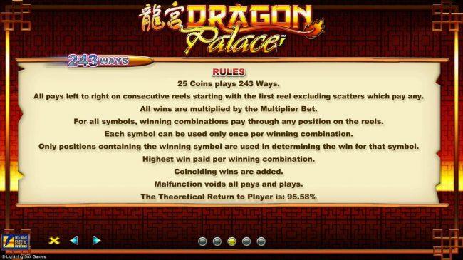Play slots at Karamba: Karamba featuring the Video Slots Dragon Palace with a maximum payout of $4,000