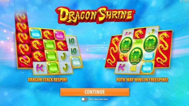 Play slots at Intercasino: Intercasino featuring the Video Slots Dragon Shrine with a maximum payout of $174,200