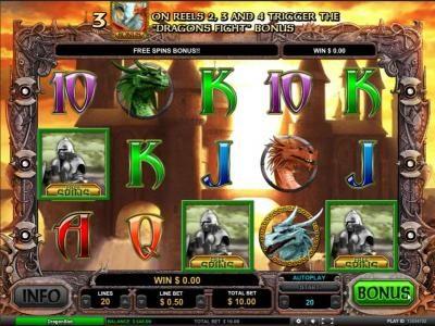 Dragon Slot :: free spins bonus triggered