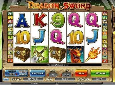 Play slots at Prime Slots: Prime Slots featuring the Video Slots Dragon Sword with a maximum payout of $120,000