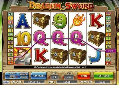 wild symbol triggers twenty one dollar jackpot