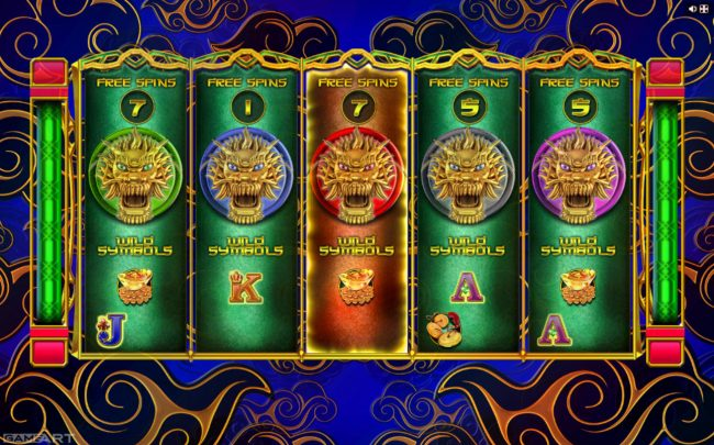 Play slots at Loki Casino: Loki Casino featuring the Video Slots Dragons and Pearls with a maximum payout of $1,250