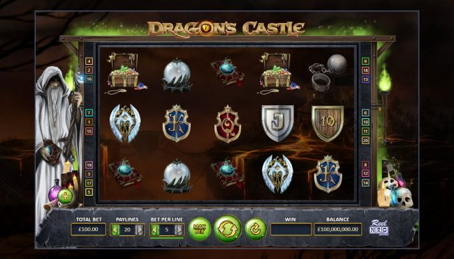 Dragon's Castle :: Main Game Board