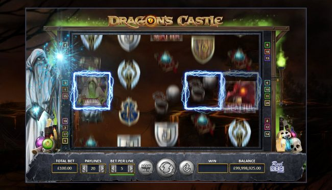 Dragon's Castle :: A winning three of a kind