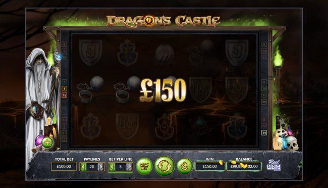 Dragon's Castle :: Multiple winning paylines
