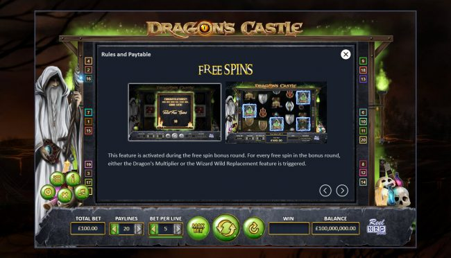 Dragon's Castle :: Free Game Rules