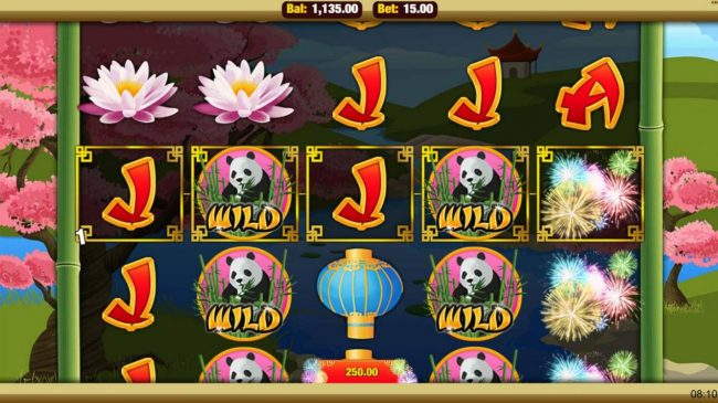 Mobireels featuring the Video Slots Dragon's Dynasty with a maximum payout of $7,500