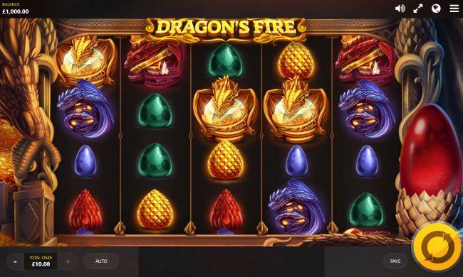 Dragon's Fire :: Main Game Board