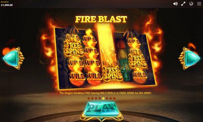 Dragon's Fire :: Fire Blast
