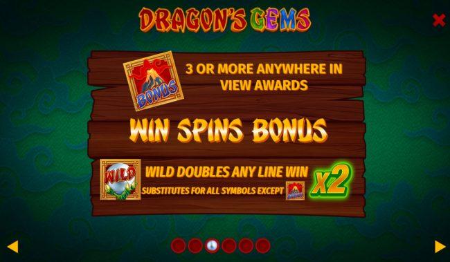 Dragon's Gems :: Scatter Symbol Rules