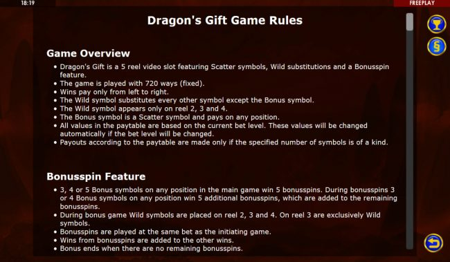 Dragon's Gift :: General Game Rules