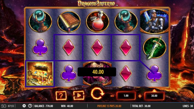 Dragon's Inferno :: Four of a kind