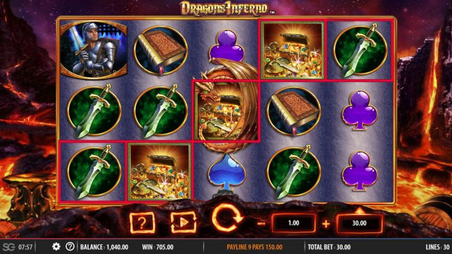 Dragon's Inferno :: Five of a Kind
