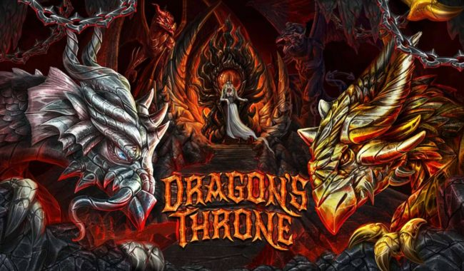 Crypto Wild featuring the Video Slots Dragon's Throne with a maximum payout of $25,000
