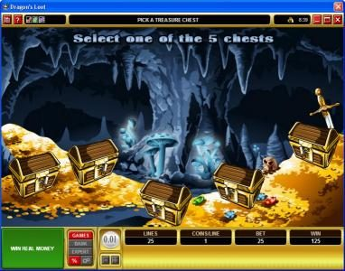 Luxury featuring the video-Slots Dragon's Loot with a maximum payout of $20,000