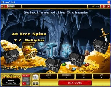 Play slots at Nostalgia Casino: Nostalgia Casino featuring the video-Slots Dragon's Loot with a maximum payout of $20,000