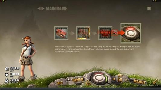 Play slots at Euro Slots: Euro Slots featuring the Video Slots Dragon's Myth with a maximum payout of $50,000
