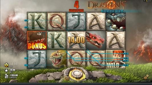 Royal Panda featuring the Video Slots Dragon's Myth with a maximum payout of $50,000