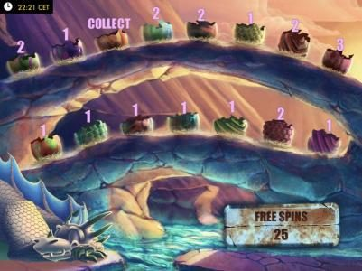 Casino Luck featuring the Video Slots Dragons Rock with a maximum payout of $150,000