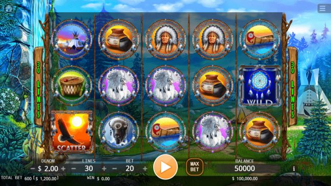 Play slots at Casino Marriott: Casino Marriott featuring the Video Slots Dream Catcher with a maximum payout of $200,000