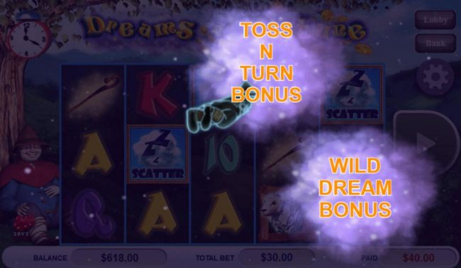 Play slots at Lucky Me Slots: Lucky Me Slots featuring the Video Slots Dreams of Fortune with a maximum payout of $121,500
