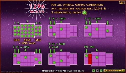 1296 ways to win