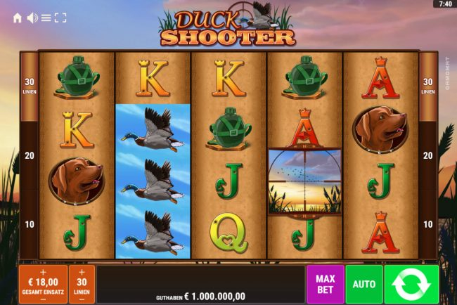 Duck Shooter :: Main Game Board