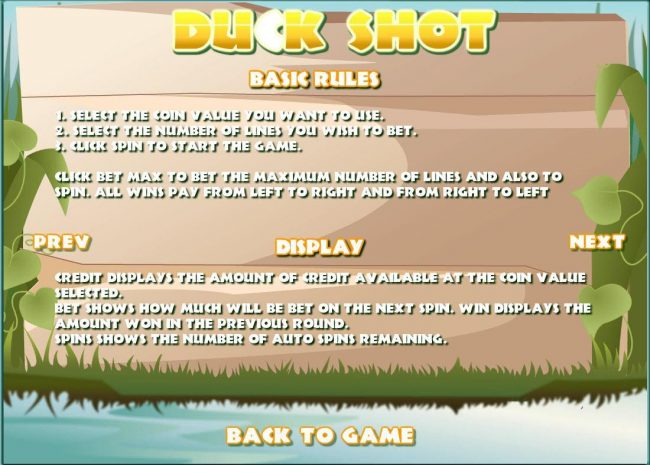 Play slots at Loki Casino: Loki Casino featuring the Video Slots Duck Shot with a maximum payout of $10,000