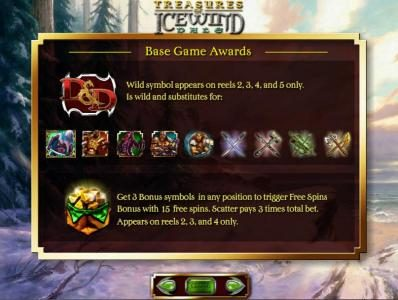 Dungeons & Dragons - Treasure of Icewind Dale :: base game awards