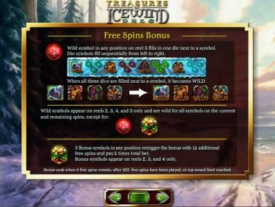 Caesars featuring the Video Slots Dungeons & Dragons - Treasure of Icewind Dale with a maximum payout of $250,000