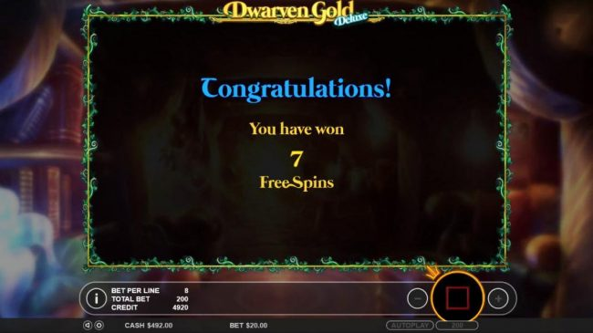 Malina featuring the Video Slots Dwarven Gold Deluxe with a maximum payout of $5,000