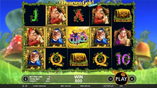 gold rush slots review