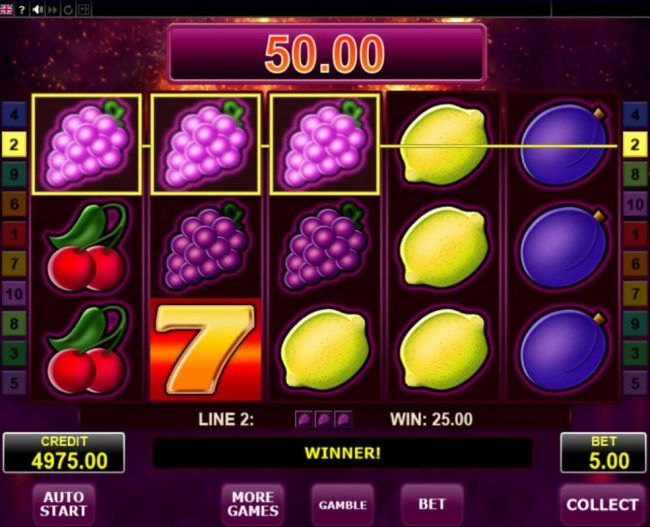 Svedala featuring the Video Slots Dynamite 7 with a maximum payout of $25,000