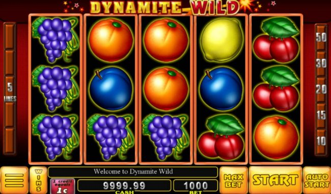 Play slots at Diamond Club VIP: Diamond Club VIP featuring the Video Slots Dynamite Wild with a maximum payout of $2,000