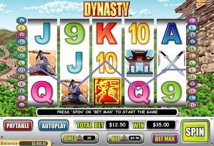 Lincoln featuring the Video Slots Dynasty with a maximum payout of $50,000