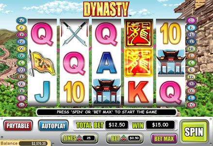 Play slots at Lincoln: Lincoln featuring the Video Slots Dynasty with a maximum payout of $50,000