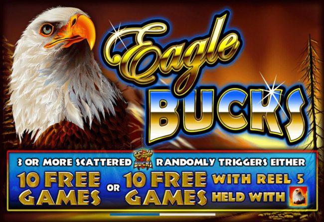 Eagle Bucks :: Splash screen - game loading