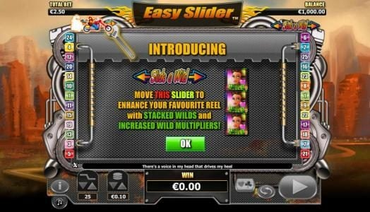 Grand Ivy featuring the Video Slots Easy Slider with a maximum payout of $2,000
