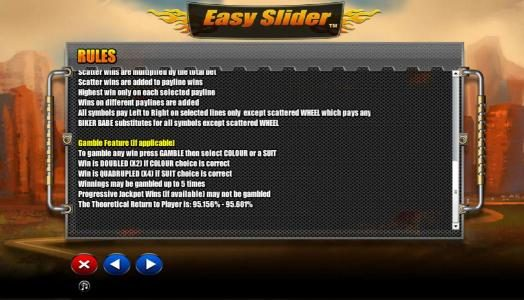 Play slots at Betive: Betive featuring the Video Slots Easy Slider with a maximum payout of $2,000