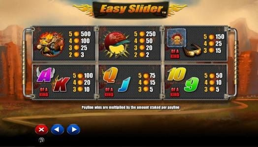 Play slots at Orientxpress: Orientxpress featuring the Video Slots Easy Slider with a maximum payout of $2,000