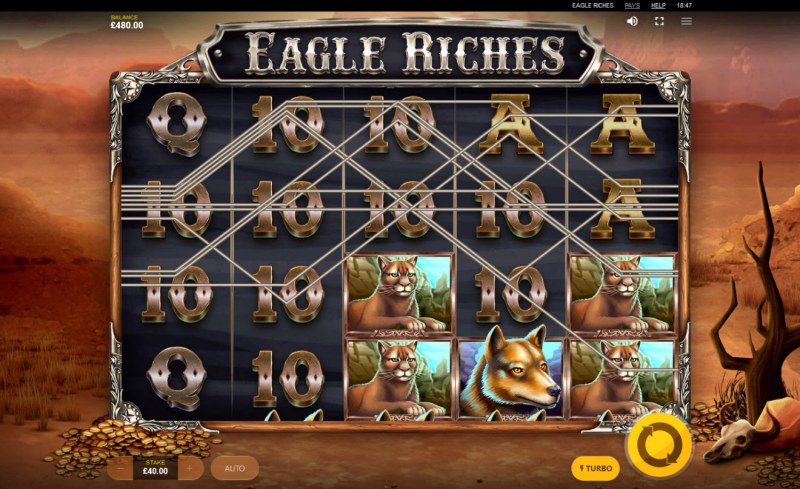 Eagle Riches :: Multiple winning paylines