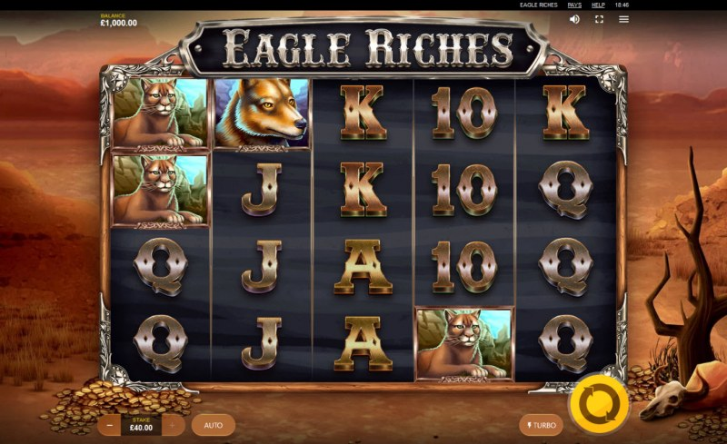 Eagle Riches :: Main Game Board