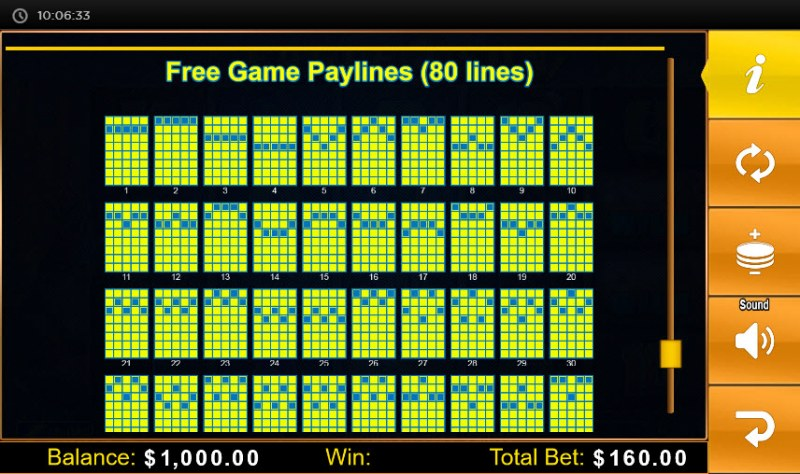 Eagle Sun :: Free Games Paylines