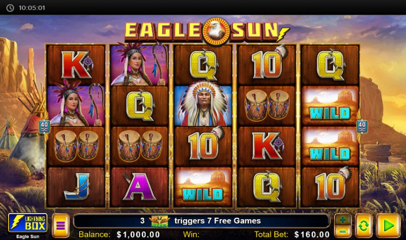 Eagle Sun :: Main Game Board
