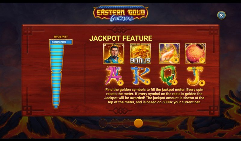 Eastern Gold 6 Deluxe :: Jacpot Feature