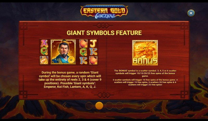 Eastern Gold 6 Deluxe :: Giant Symbols Feature